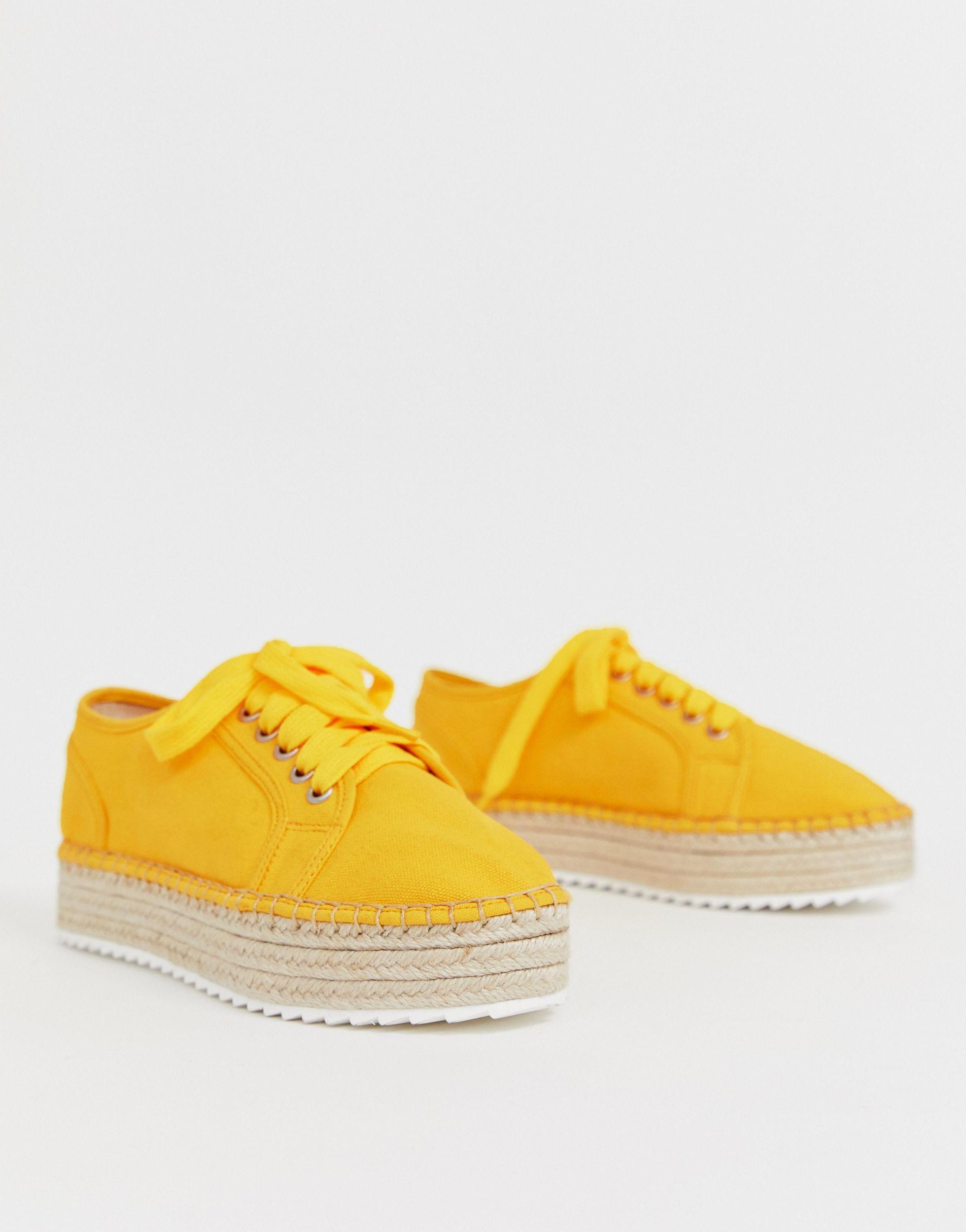Zapatillas ASOS de Denim de color Amarillo