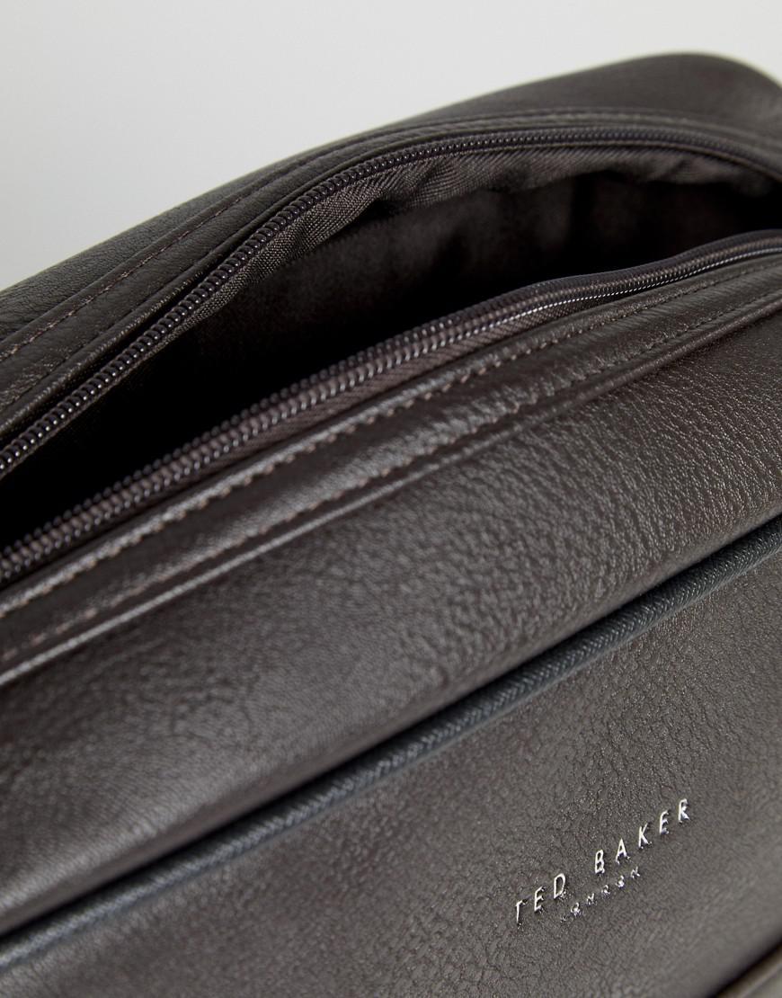 Lyst - Ted Baker Delano Webbing Messenger Bag in Brown for Men 5b6e0024fe