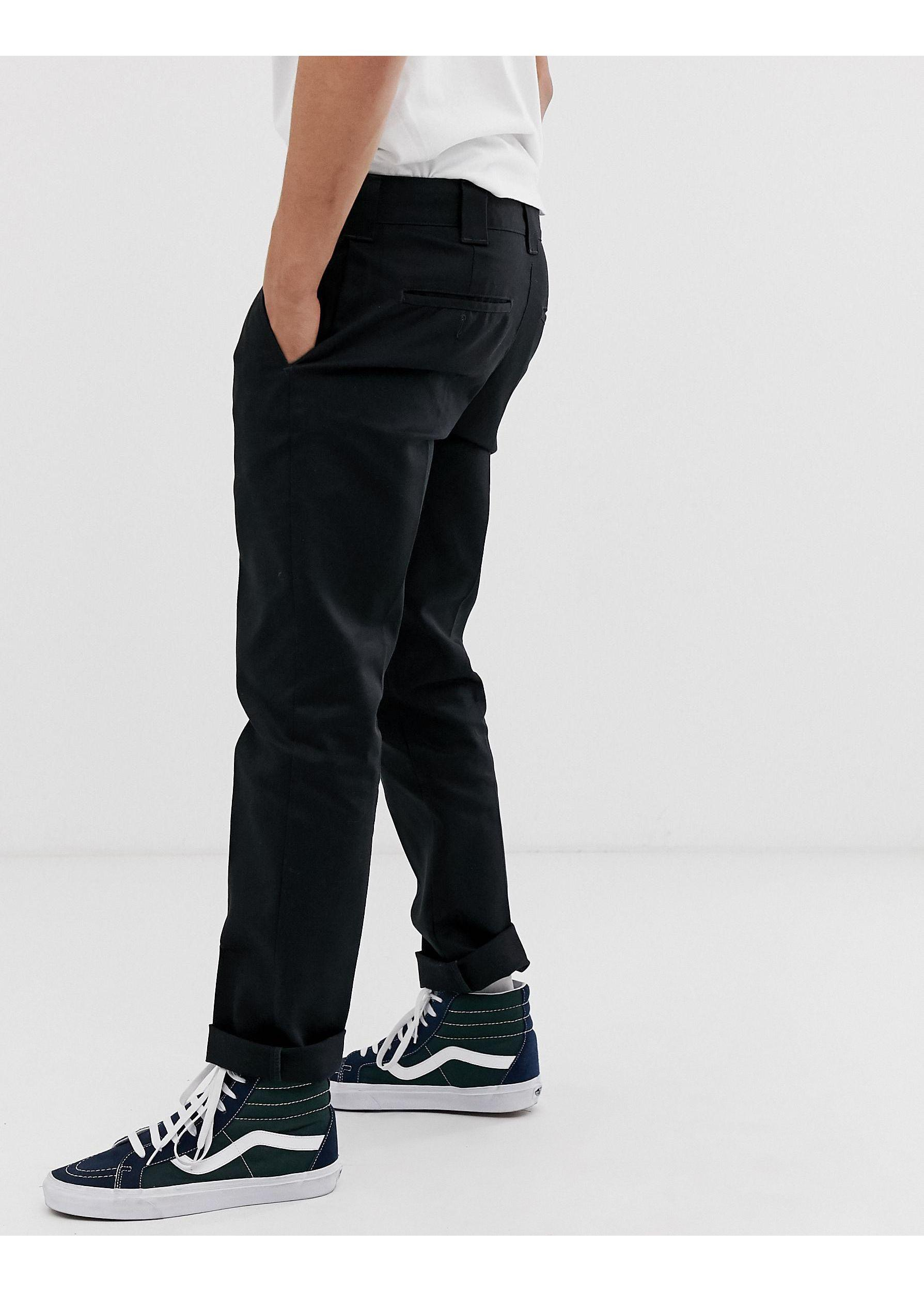 Dickies Synthetic 872 Work Pant Chino in Black for Men