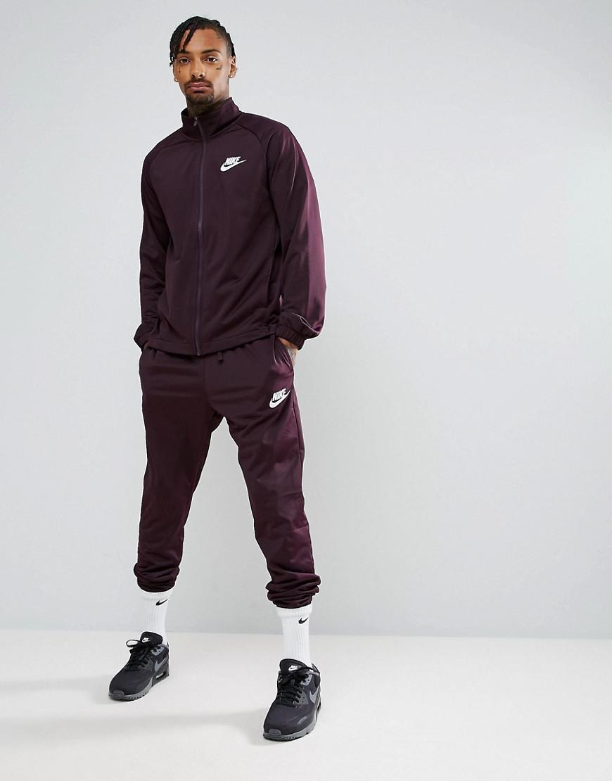 4f4c0b31920d Nike Polyknit Tracksuit Set In Purple 861780-652 in Purple for Men ...