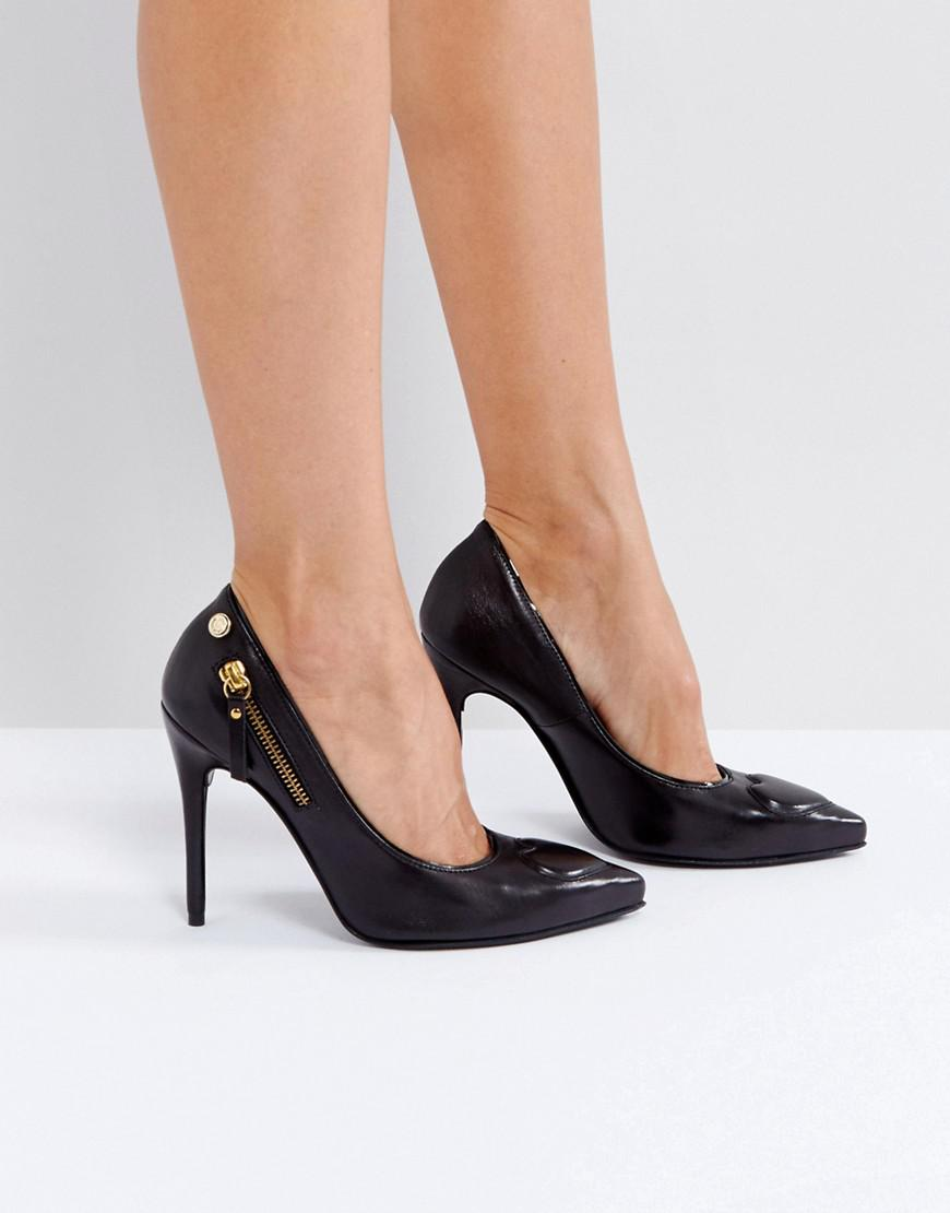 Love Moschino Heart Point High Heels in