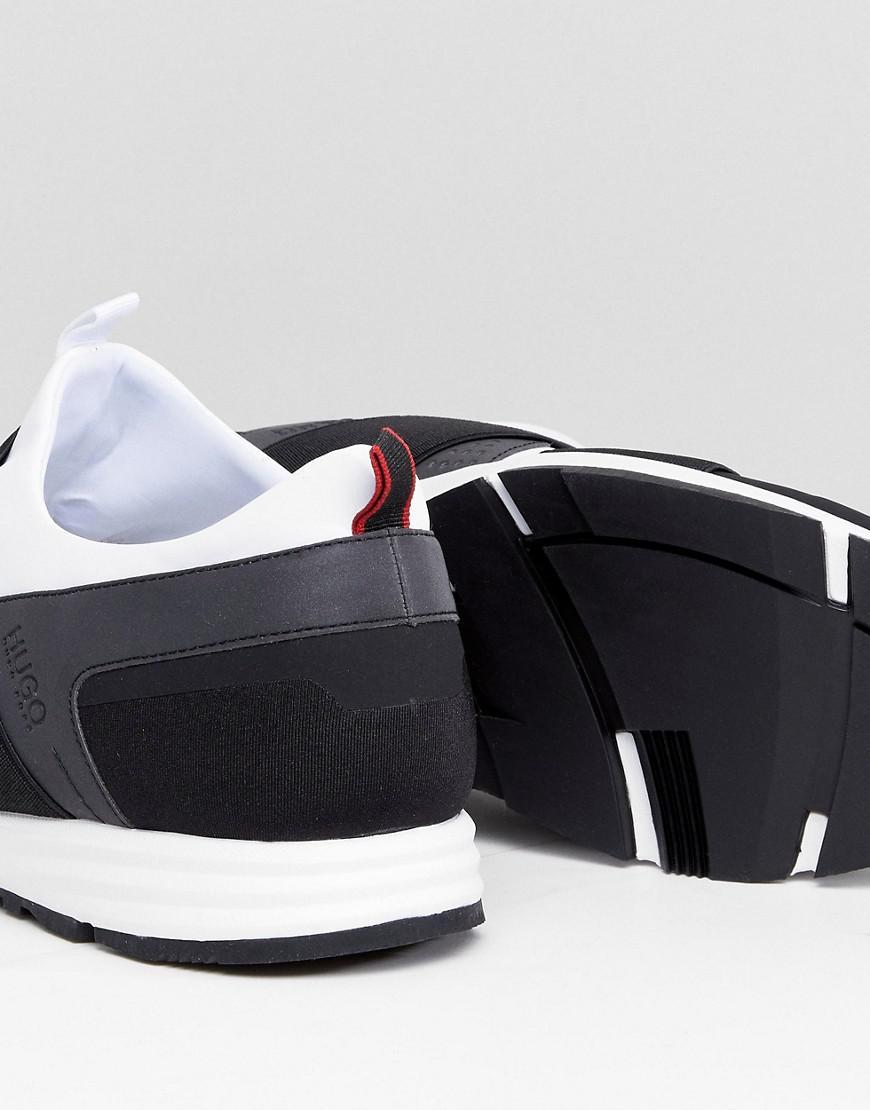 ec14e309cbb HUGO Hybrid Running Sneakers In White in White - Lyst
