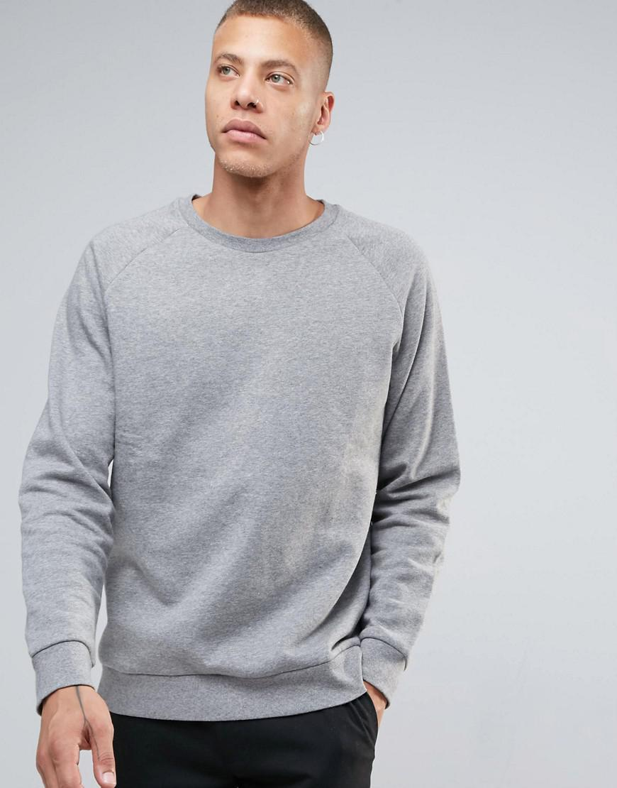Pre Order Sale Online Paris Melange Sweatshirt - Light grey melange Weekday Extremely Cheap Price ST0o2zronD