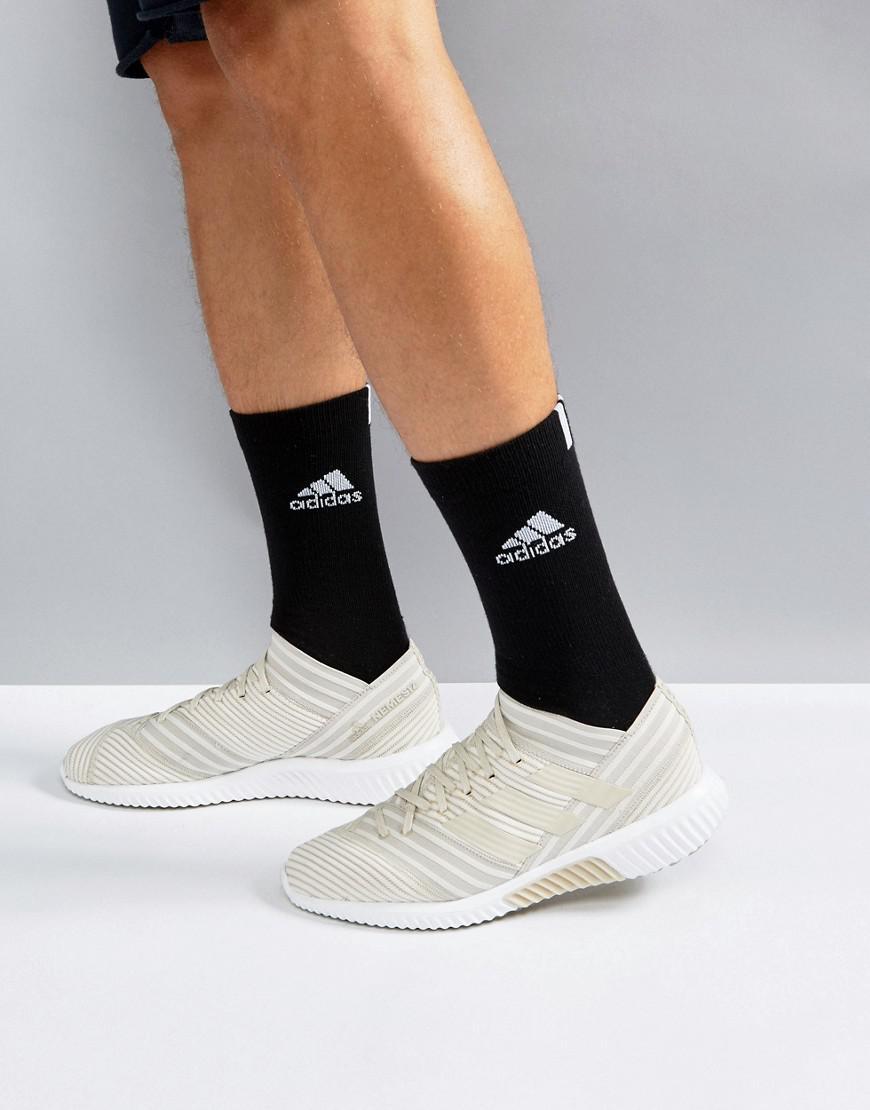 Pantano yermo aliviar  adidas Soccer Nemeziz Tango 17.1 Boost Sneakers In Beige By2465 in Natural  for Men - Lyst