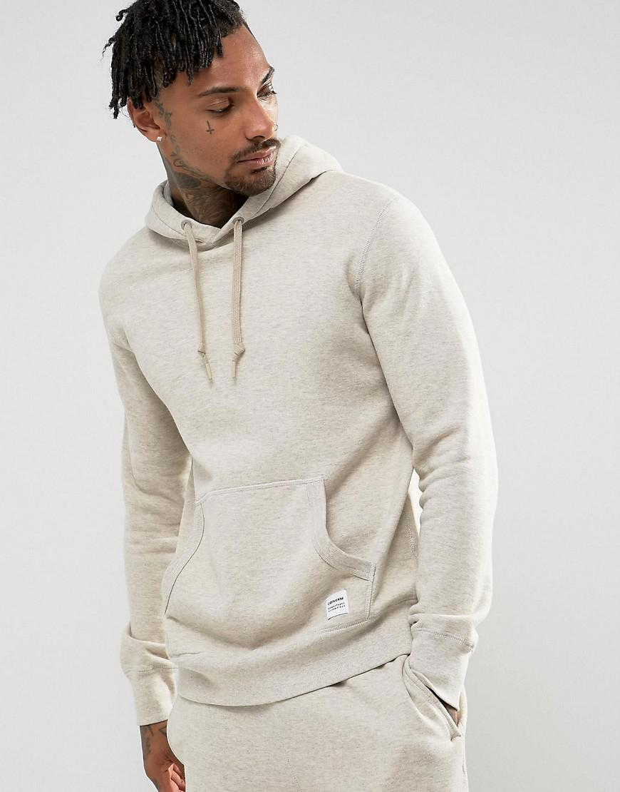 Converse Essentials Luxe Pullover Hoodie In Beige 10000656-a11 in ...