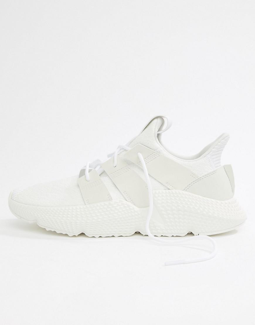 best service 224f6 00316 Adidas Originals - Prophere Sneakers In White B37454 for Men - Lyst. View  fullscreen