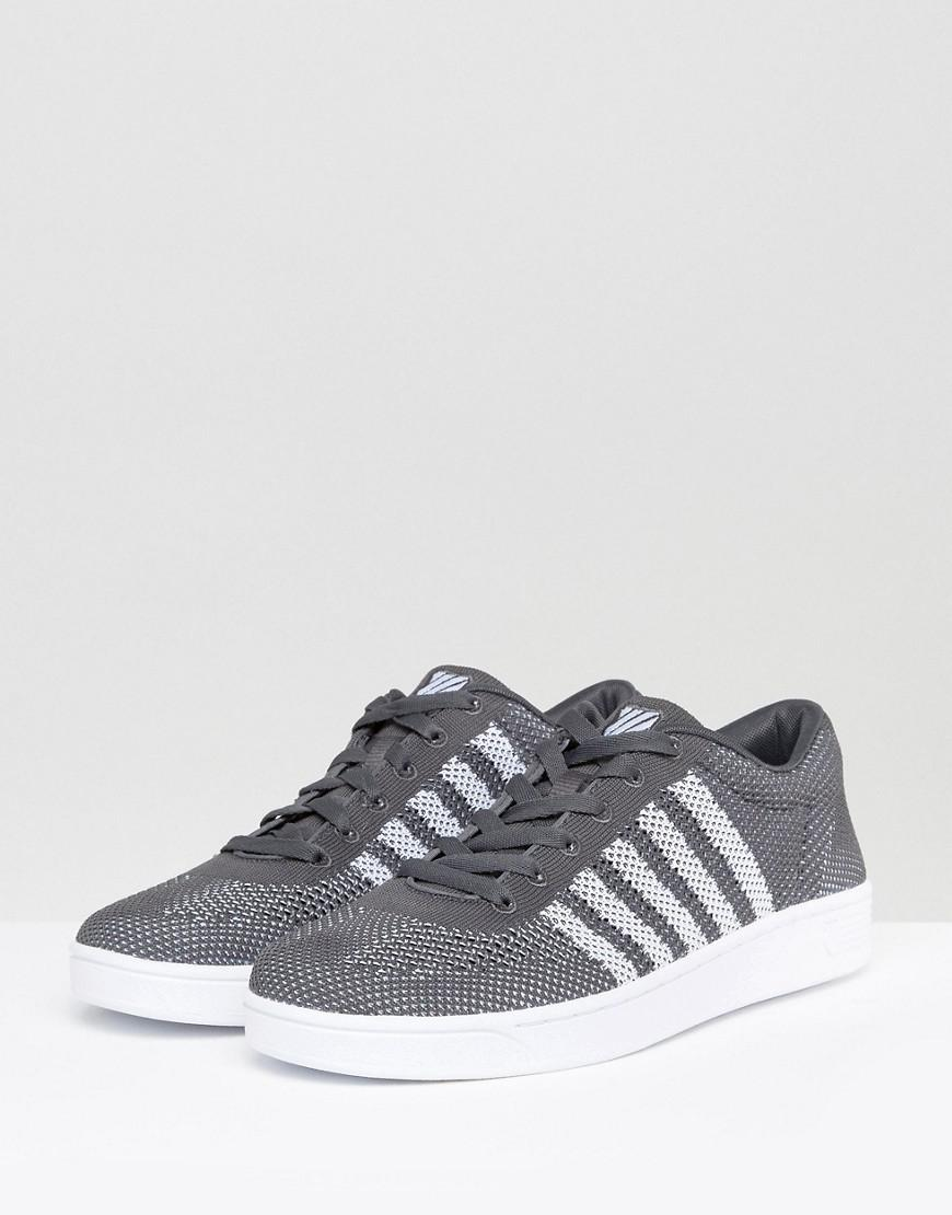 K-swiss Pique Trainers in Black for Men