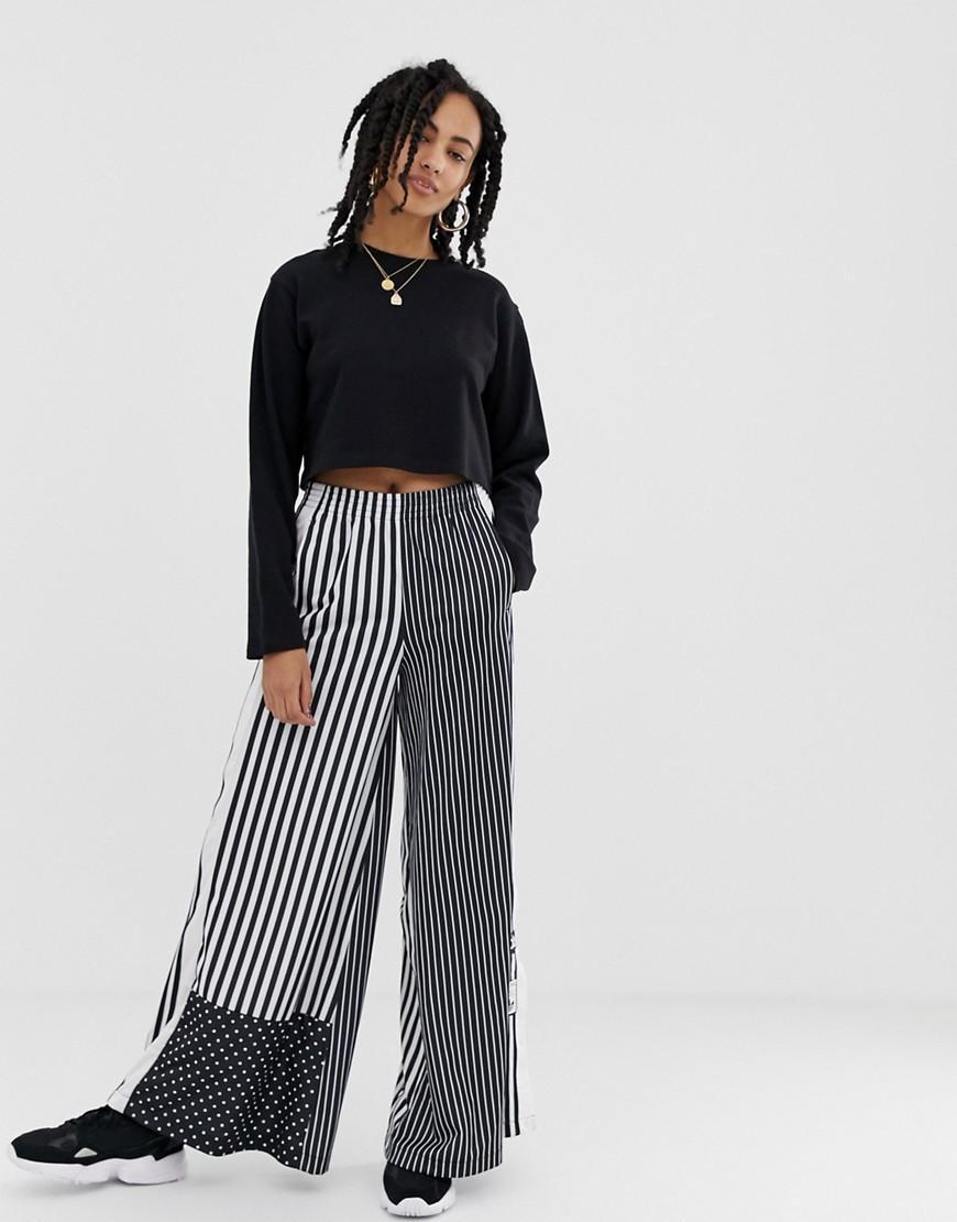 adidas pantalone relax cropped