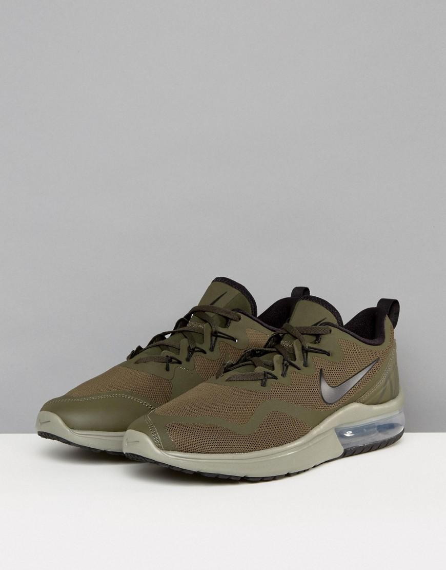Nike Rubber Air Max Fury Trainers In Green Aa5739-300 for Men