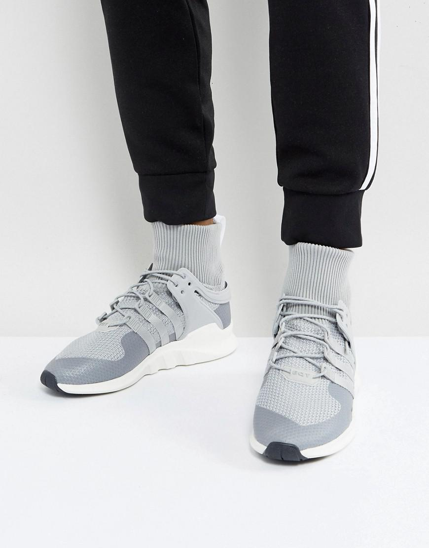 premium selection 0f7b5 5663e Adidas Originals - Eqt Support Adv Winter Sneakers In Gray Bz0641 for Men -  Lyst. View fullscreen