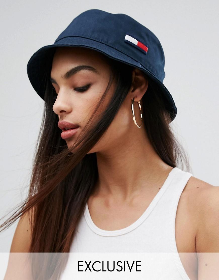 Lyst Tommy Hilfiger Exclusive Bucket Hat In Blue