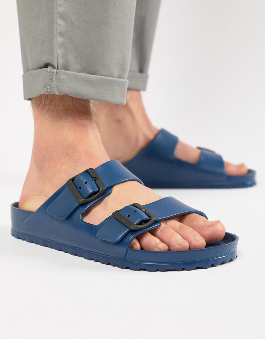 308240263a5d Birkenstock Arizona Eva Sandals In Navy in Blue for Men - Lyst
