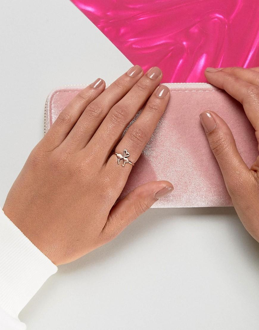 Image result for ASOS Love Heart Flamingo Ring