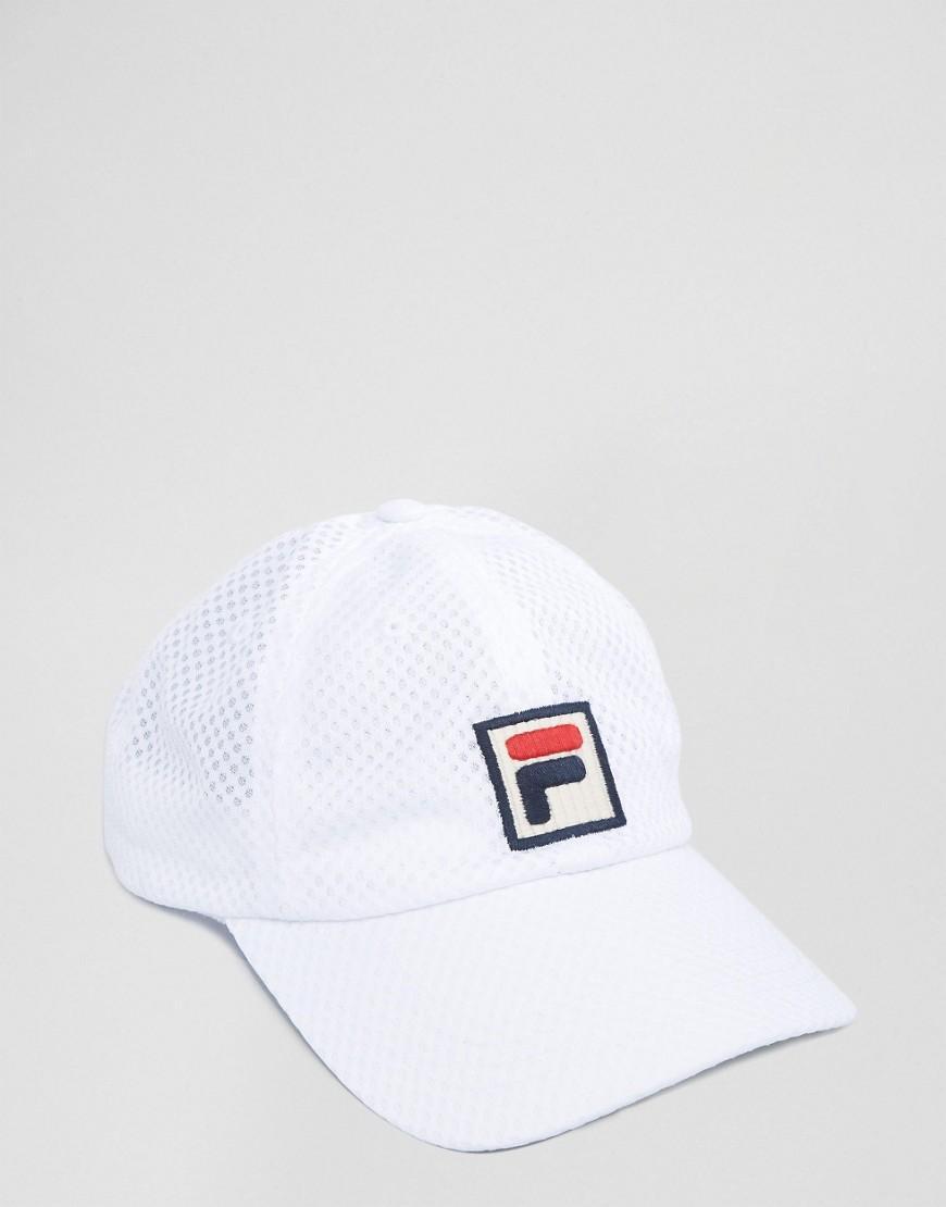 Sombrero Blanco Con El Logotipo De Los Hilos r5A8aiWnFt