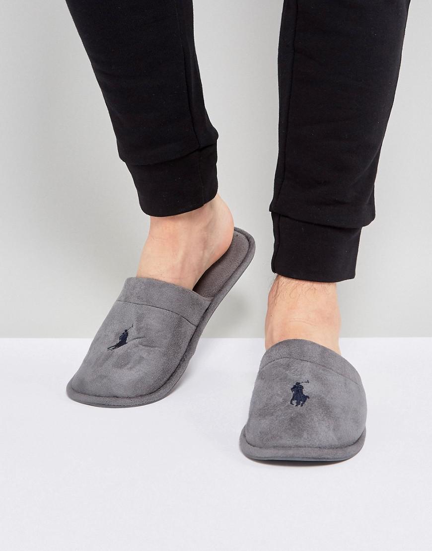 826021509825 Ralph Lauren - Gray Summitt Slippers for Men - Lyst. View fullscreen
