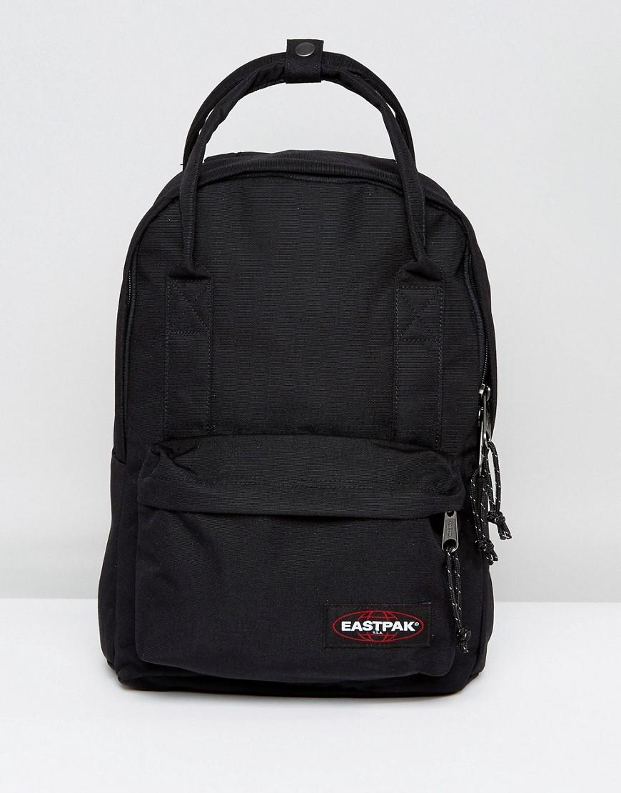Eastpak Padded Backpack With Top Handle in Black