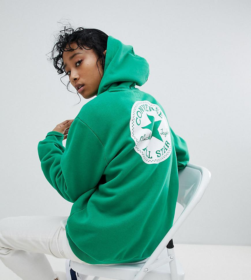 0ecdded9e Converse Chuck Patch Graphic Hoodie In Green