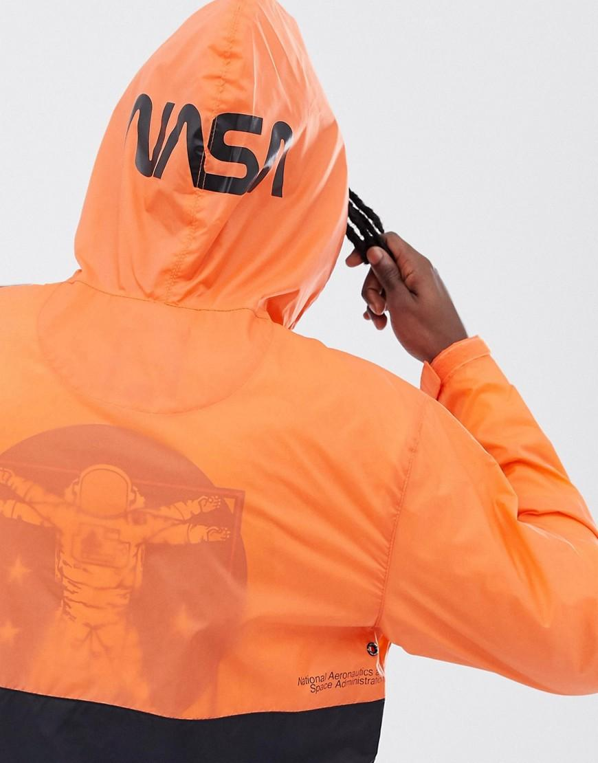 Vans Synthetisch X Space Voyager - Jack Met Korte Rits in het Oranje voor heren