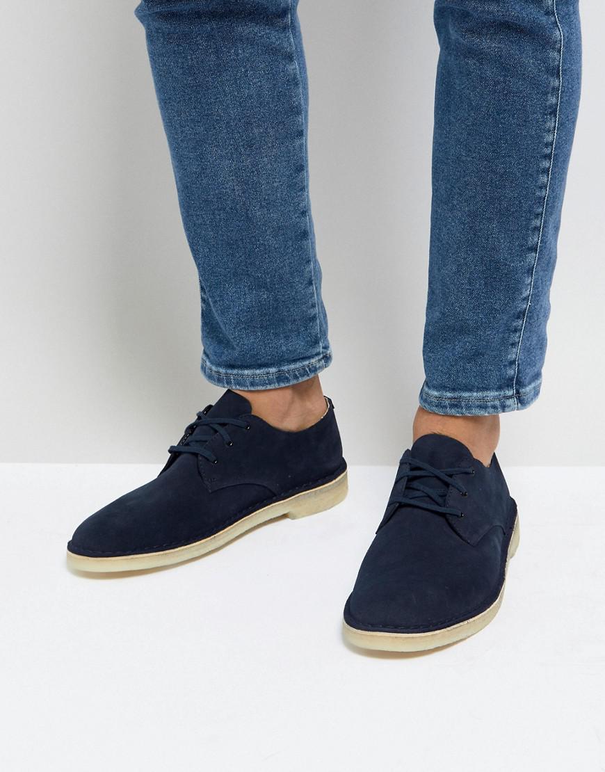 Clarks Clarks Suede Desert Crosby Shoes