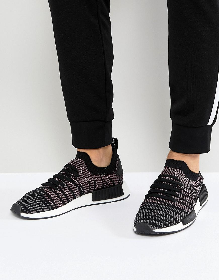 cheap adidas originals nmd r1 boost black anthracite white