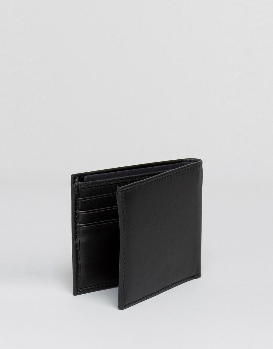 6ea2752910 Tommy Hilfiger Eton Mini Billfold Leather Wallet In Black