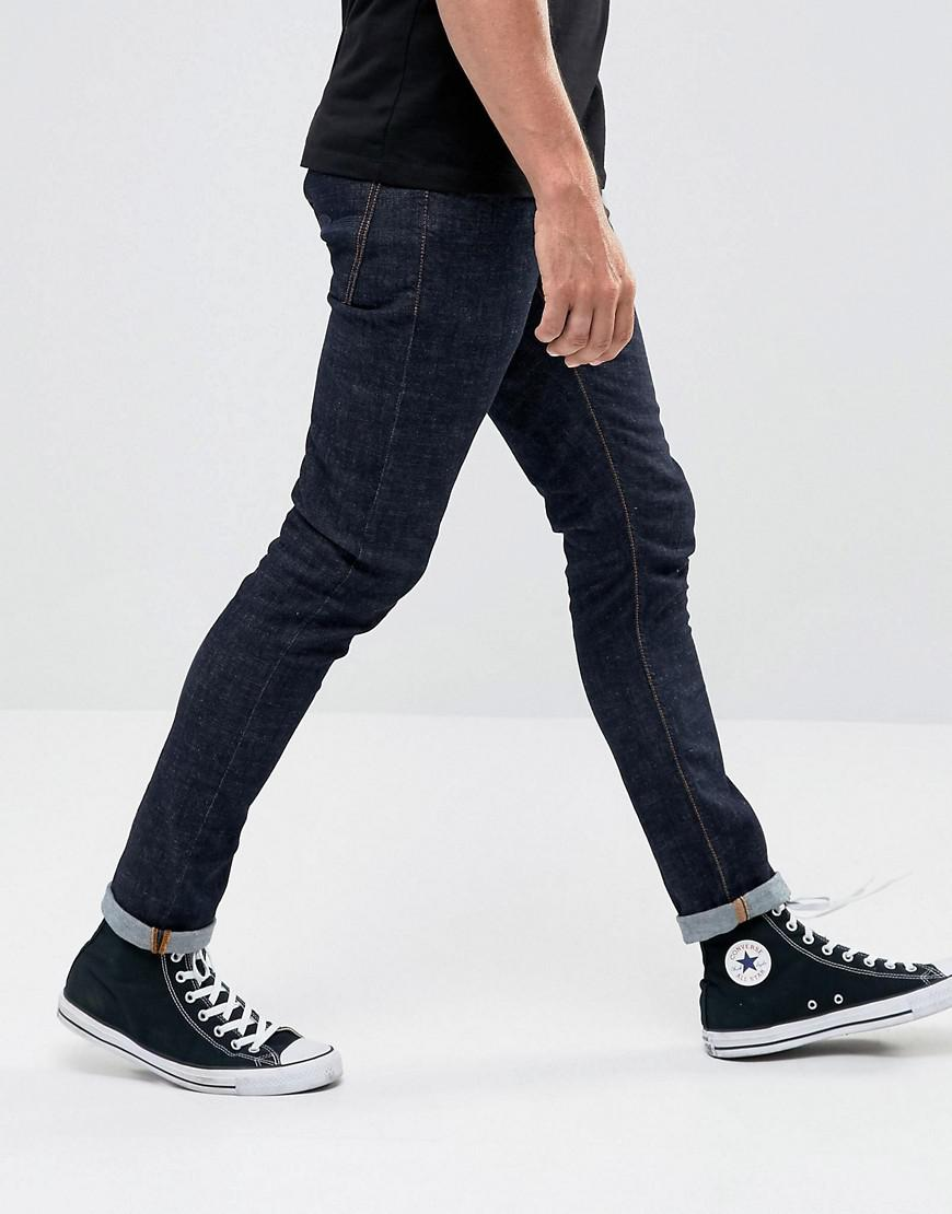 ca6872c99f3ac Lyst - Nudie Jeans Co Tight Terry Super Skinny Jean Rinse Twill Wash ...