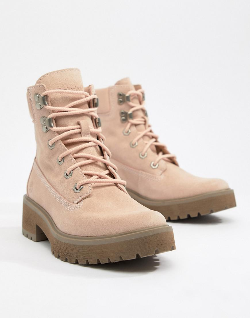 fresh styles watch latest design Carnaby Cool 6 Inch Suede Rose Ankle Boots