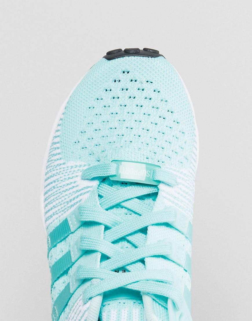 Originals Eqt Support Rf Primeknit Sneaker In Aqua
