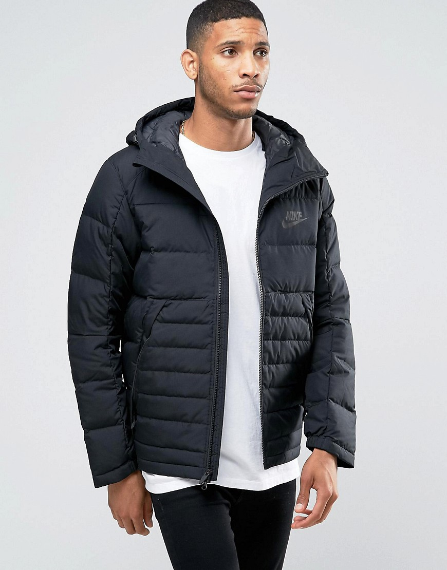 on feet images of great quality top fashion Av15 Hooded Jacket In Black 806855-010