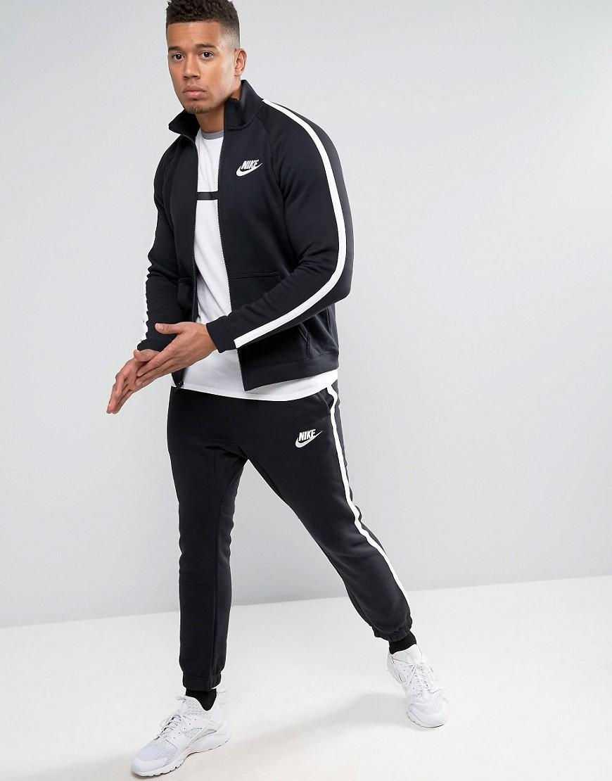 90b14e3275 ... Nike Tracksuit Set In Black 804312-010 in Black for Men - Ly newest  d2e89 ...