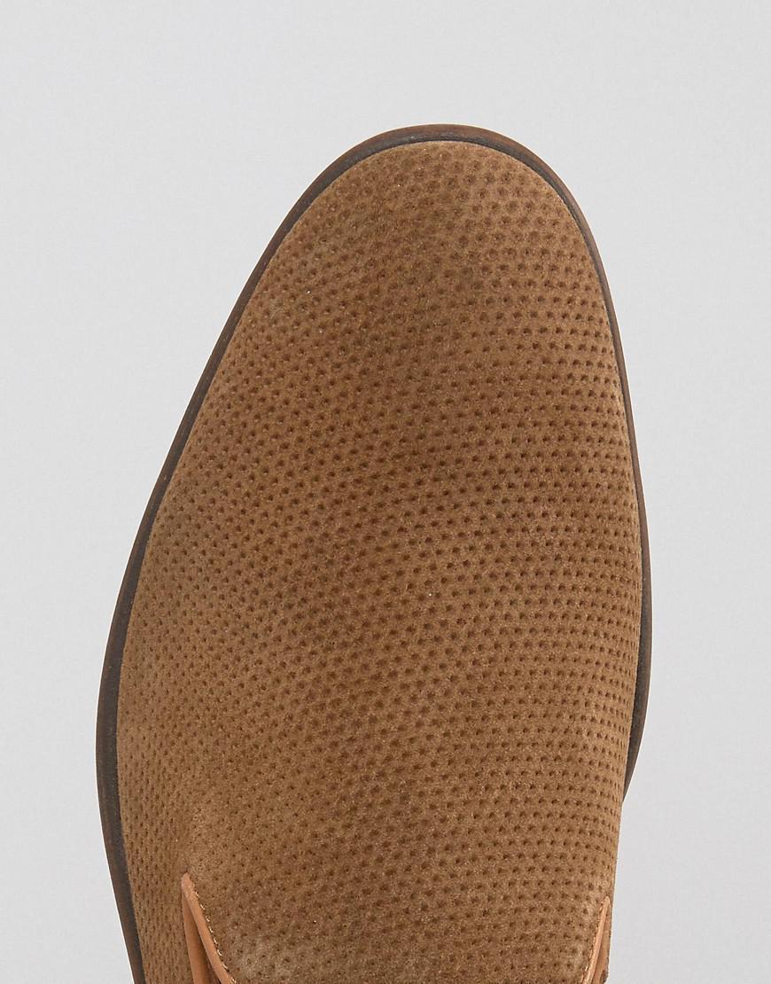 9e33680f636 Lyst - Steve Madden Taslyn Suede Loafers in Brown for Men