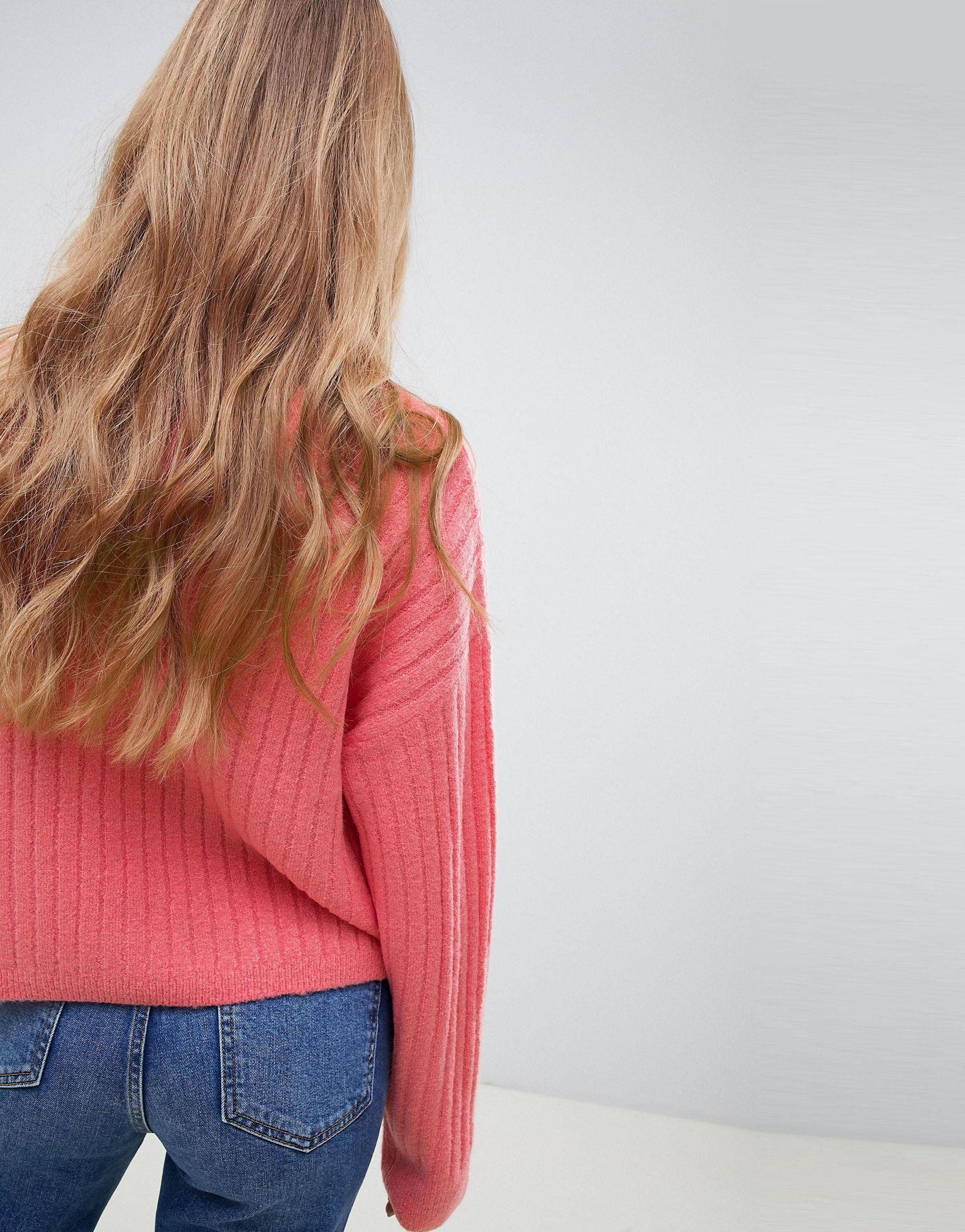 Jersey esponjoso ASOS de Denim de color Rosa