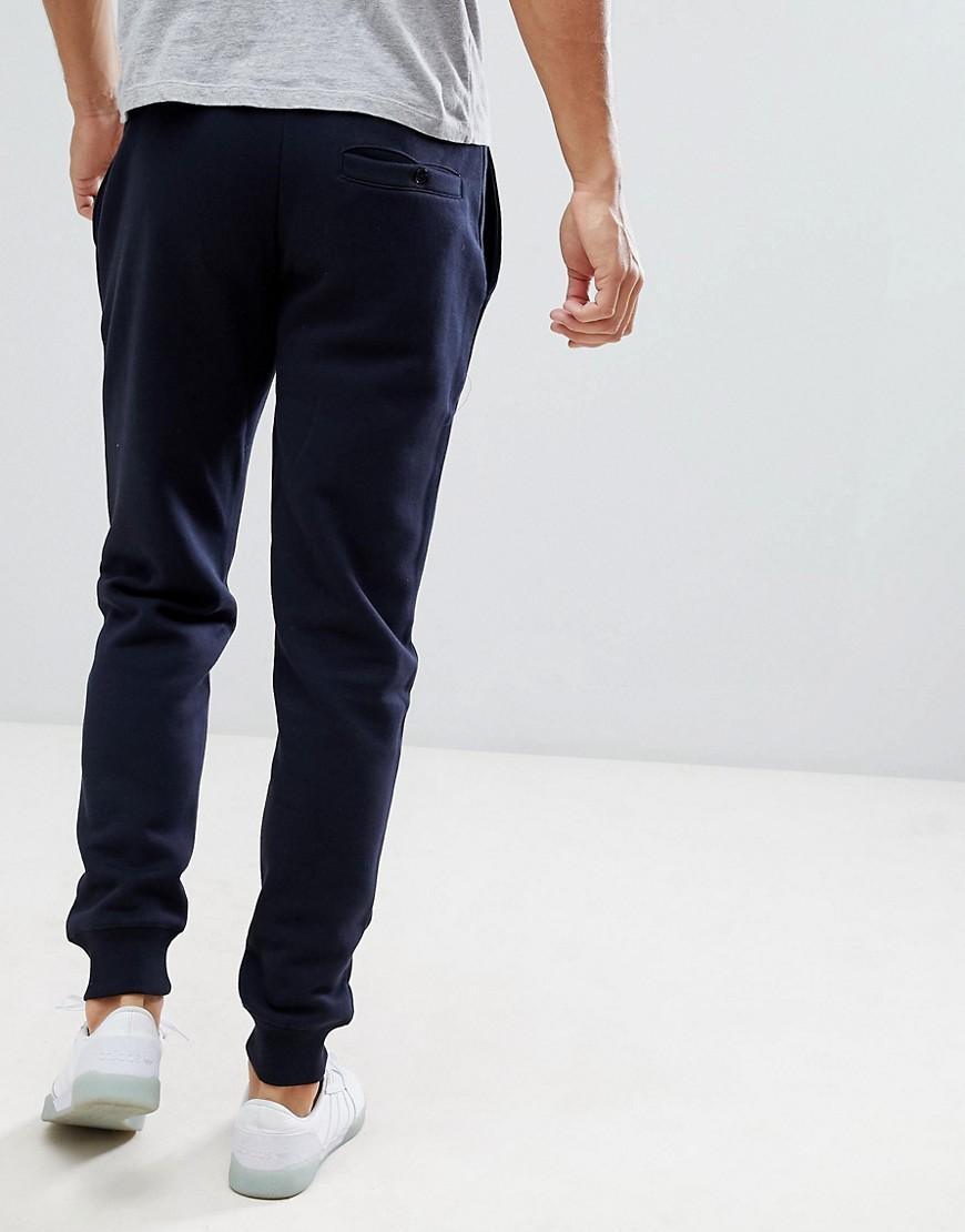 French Connection Katoen Musthaves - Slim-fit joggingbroek in het Blauw voor heren