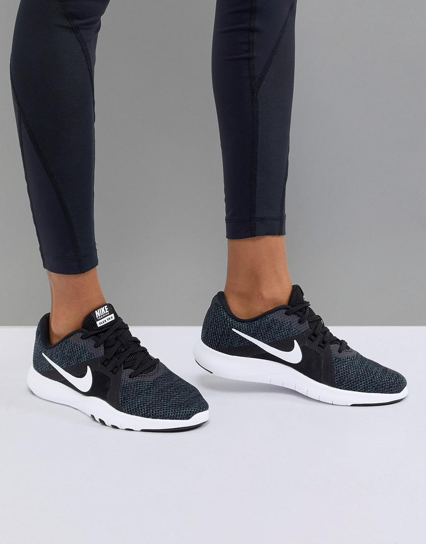 ea9b450e057 Nike Flex Sneakers In Black in Black - Lyst