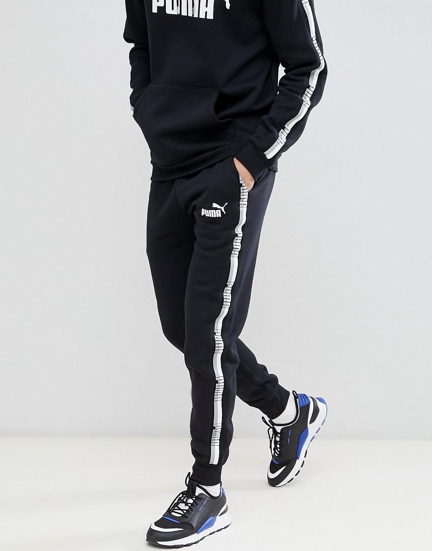 Pantalon de jogging avec bande - Noir 85241801 PUMA pour homme en ...