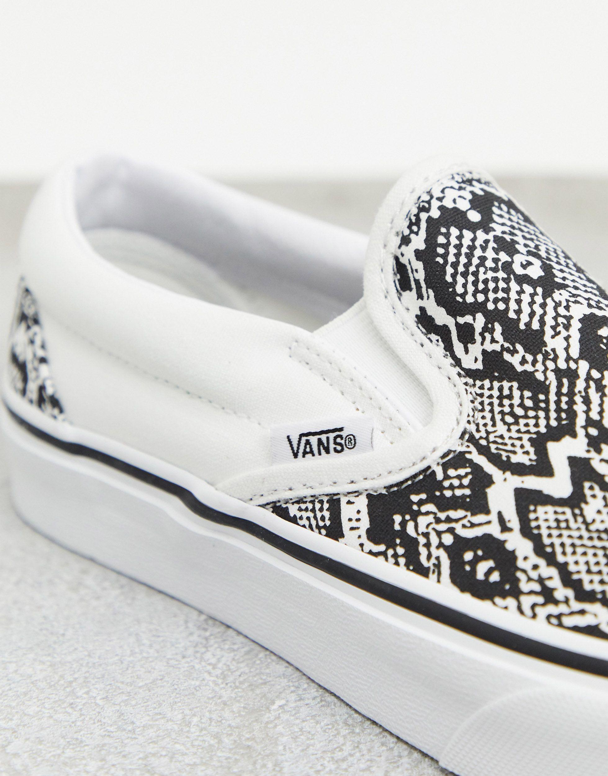 Vans Classic Slip-on Snake Print