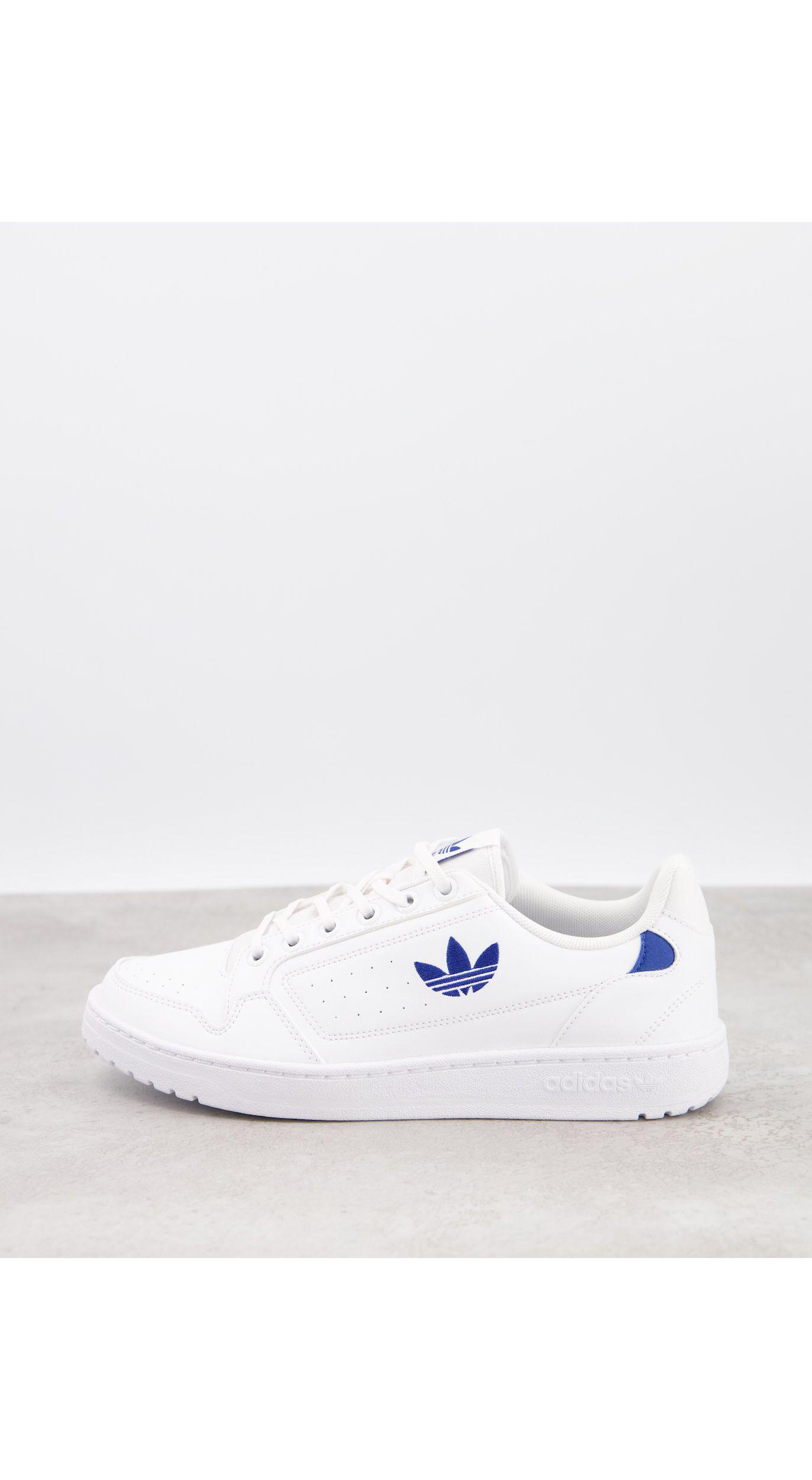 NY 92 - Baskets à logo bleu Caoutchouc adidas Originals pour homme ...