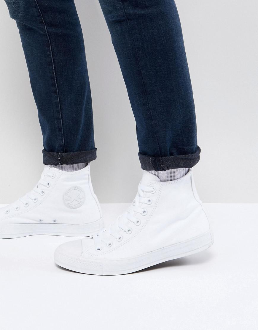 Lyst - Converse All Star Hi Plimsolls In White 1u646 in White for Men 0677575d5