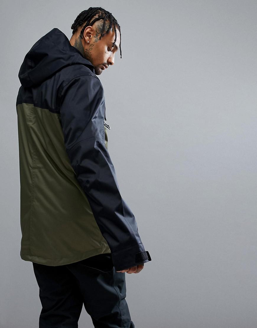 Oakley Snow Timber Bzs Ski Jacket 15k Waterproof Parka Fit In Dark Green for Men