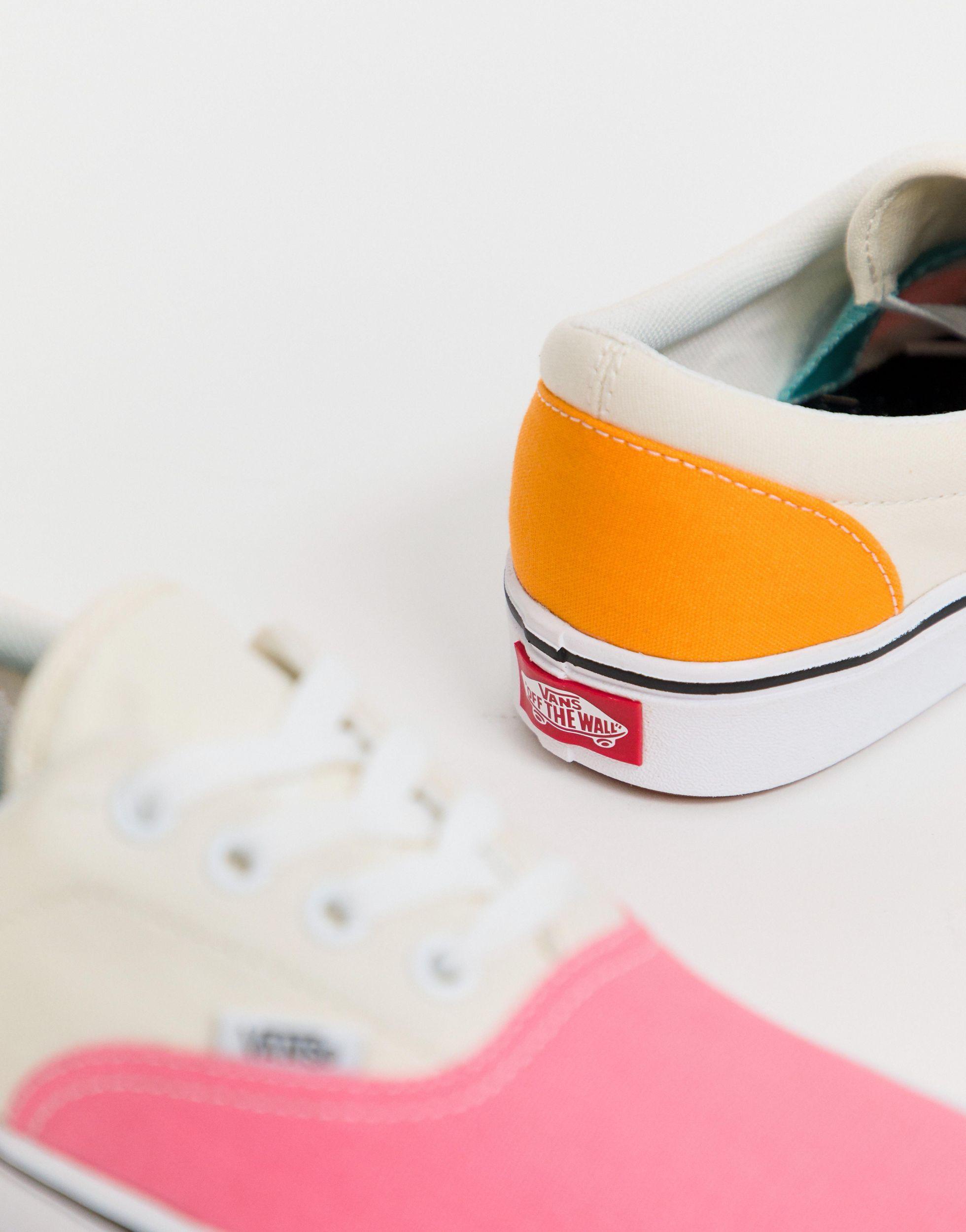Zapatillas colour block ComfyCush Era Vans de color Rosa