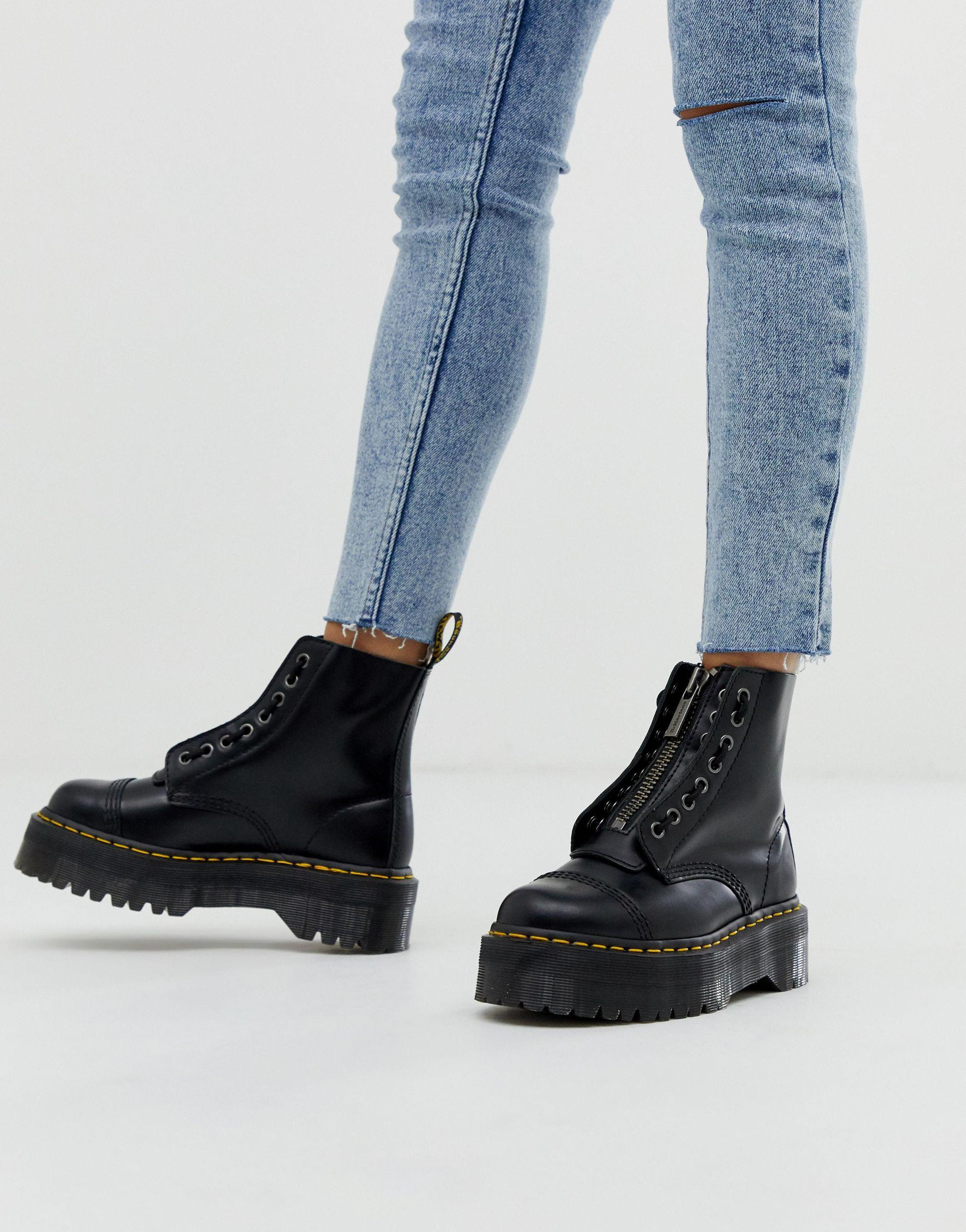 Dr. Martens Sinclair Leather Zip Chunky