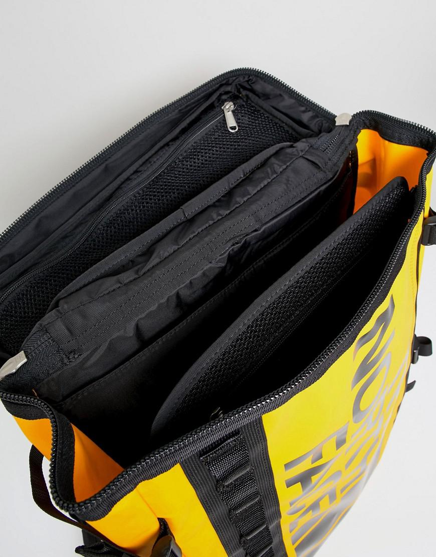 The North Face Yellow Base Camp Fuse for men on