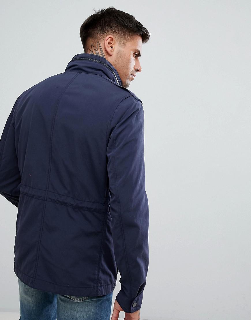 7a99b5f13a7 BOSS Nylon Four Pocket Field Jacket In Navy in Blue for Men - Lyst