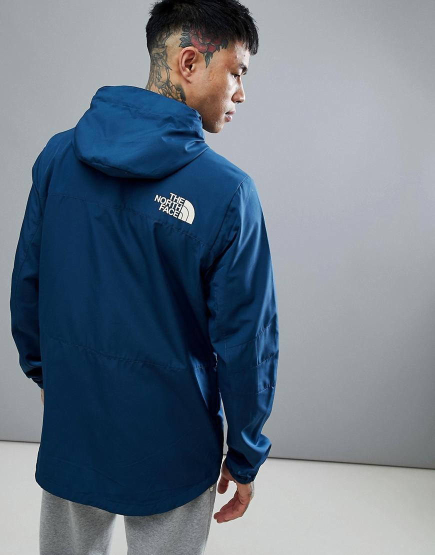 The North Face Fantasy Ridge Light Jacket Hooded In Blue for Men
