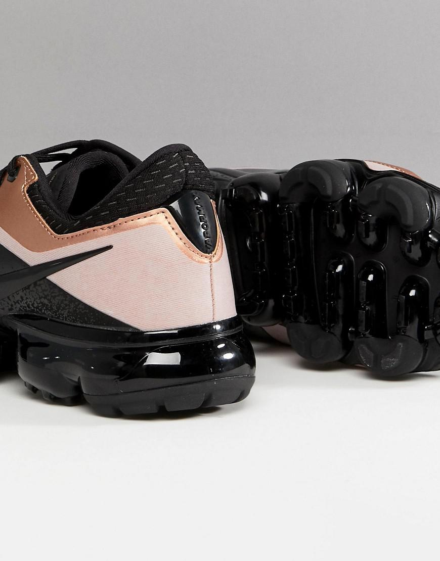 Buy \u003e vapormax black rose gold - 65