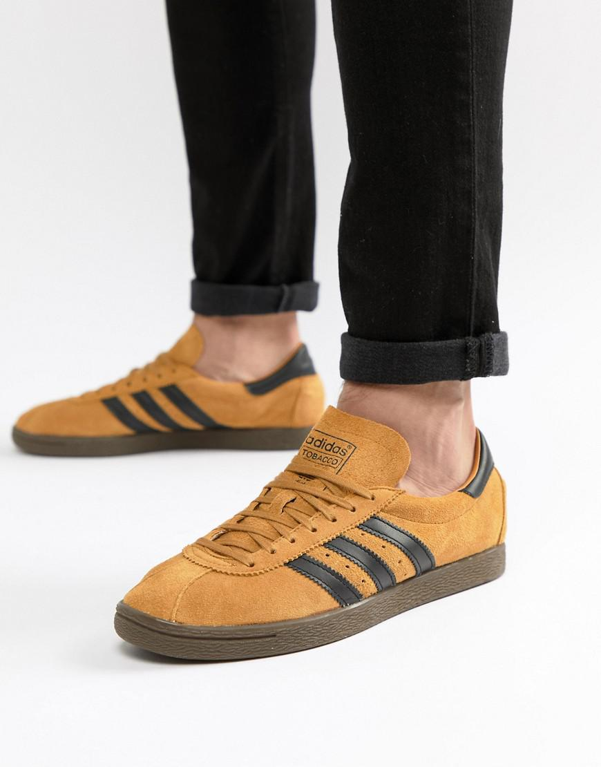 adidas tobacco trainers for men