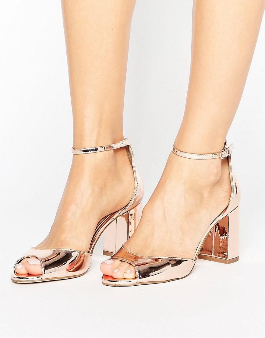 Miss Kg Sara Barely There Sandal in Black - Lyst