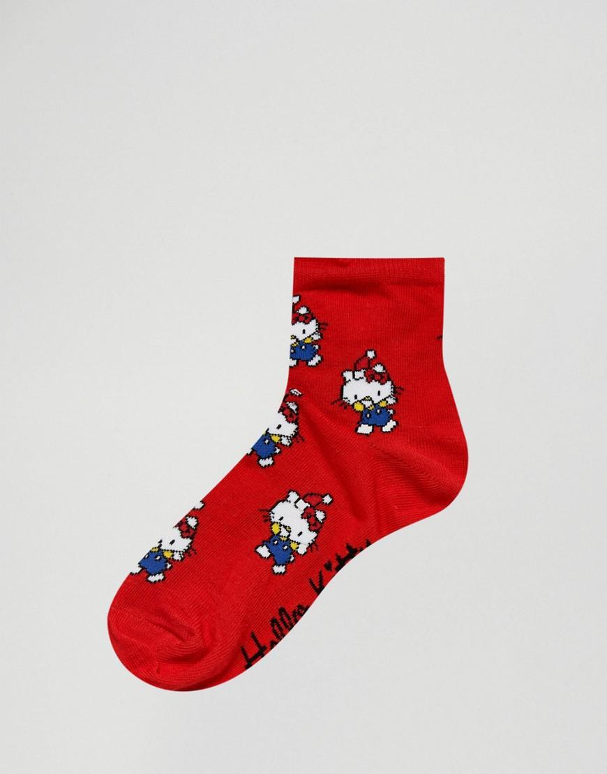 8473fb5f7 ASOS Hello Kitty X Holidays Dabbing 2 Pack Socks - Lyst