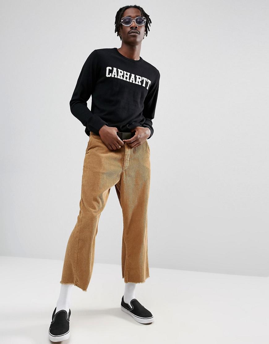 Carhartt WIP College Sweater in Black for Men