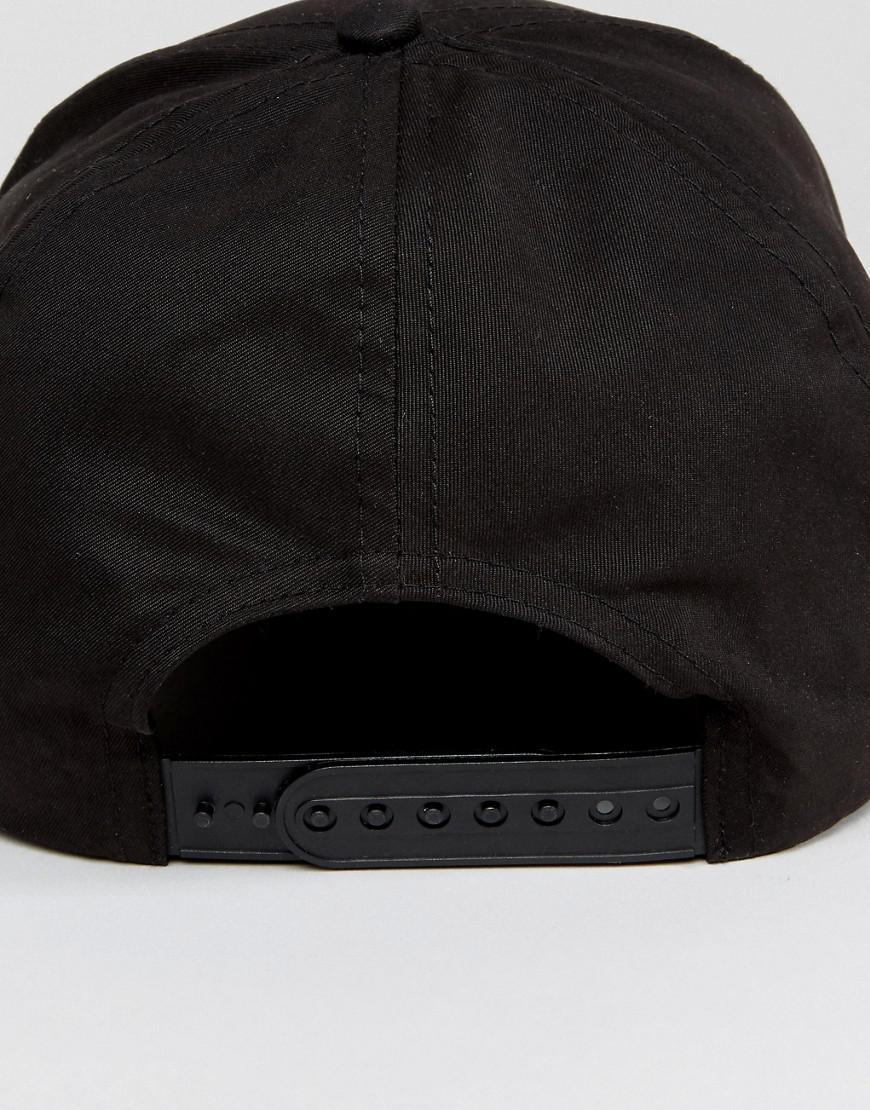 Baseball Cap In Black - Black New Look btk5cWS32